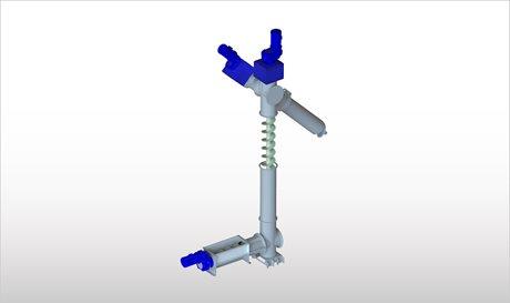 Sistema di alimentazione a coclea per biomasse for Sistema di filtraggio per laghetto